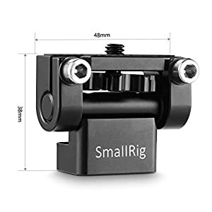 SmallRig Tooless Pan Monitor Holder Mount Arm Anti-Twist for Camera Field Monitors - 1842