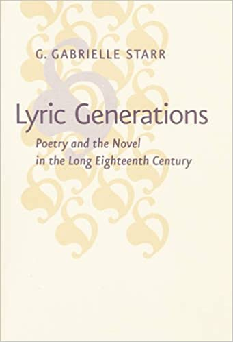 Amazon lyric generations poetry and the novel in the long amazon lyric generations poetry and the novel in the long eighteenth century 9781421418223 g gabrielle starr books stopboris Images