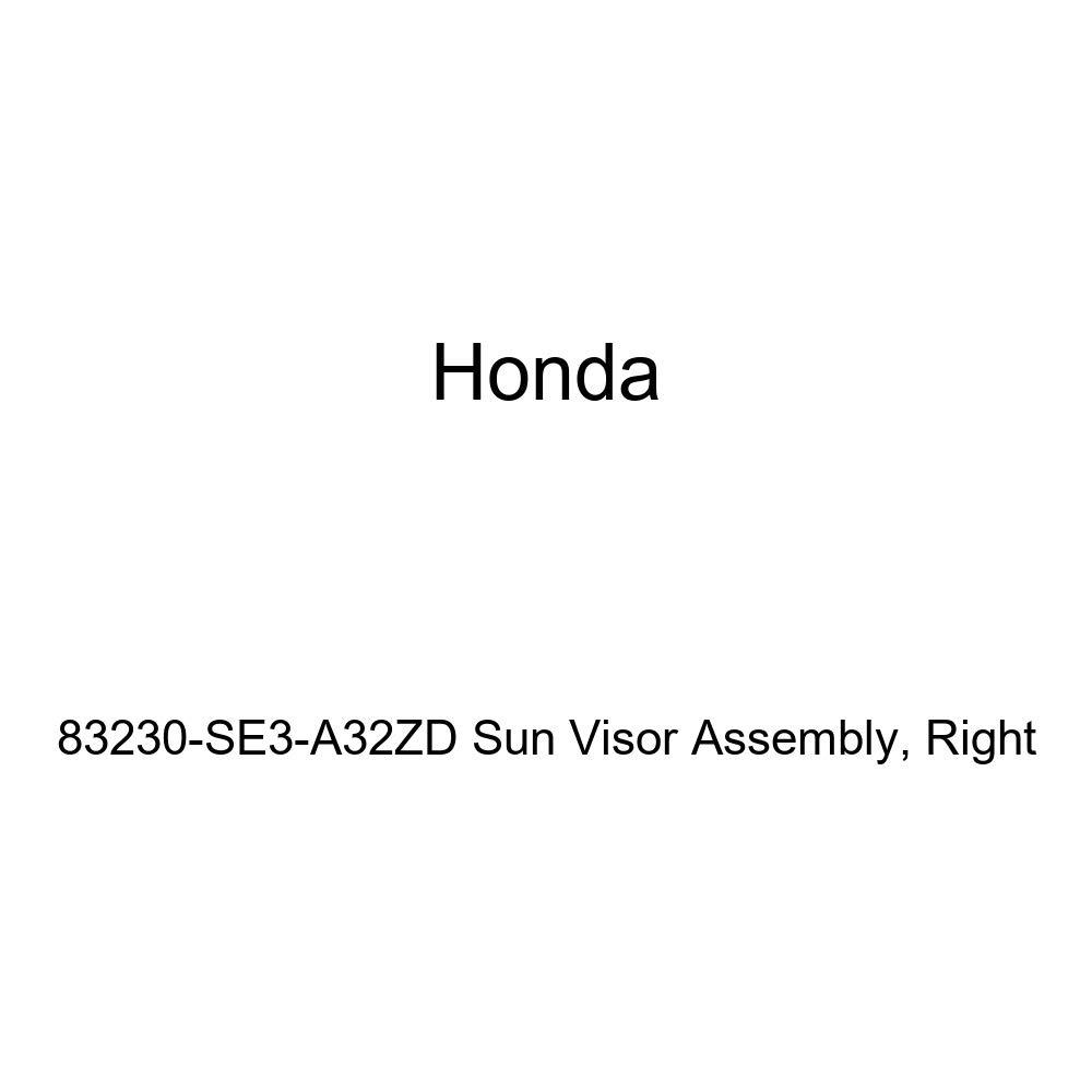 Right Honda Genuine 83230-SE3-A32ZD Sun Visor Assembly