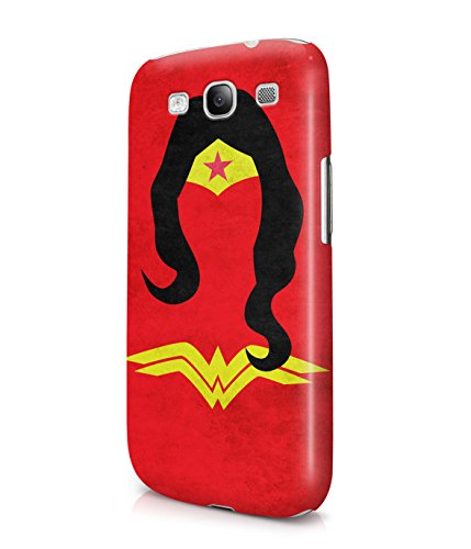 Wonder Women DC Comics Plastic Snap-On Case Cover Shell For Samsung Galaxy S3