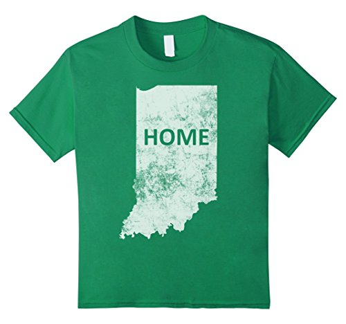 unisex-child Home - Indiana T-Shirt 4 Kelly Green