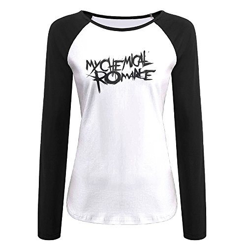 Price comparison product image AIJFW My Chemical Romance Women's Crewneck Raglan Jersey Shirt S