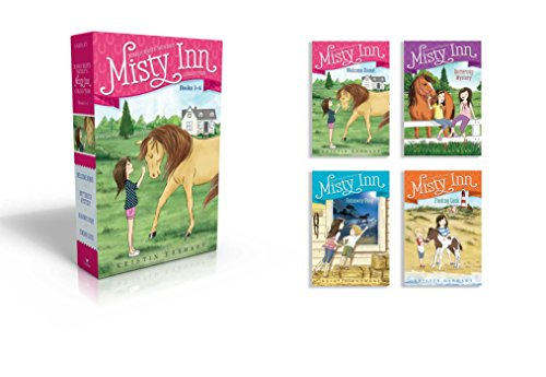 Marguerite Henry's Misty Inn Collection Books 1-4: Welcome Home!; Buttercup Mystery; Runaway Pony; Finding Luck by Aladdin (Image #1)