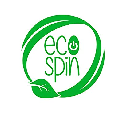 Laundry Ball Wash Ball by ECO SPIN - Eco-Friendly all Natural Detergent Alternative - Used up 1000 Loads - Washing ball for Washing Machine Easy to Use Perfect Gift Save Money Bra Cup