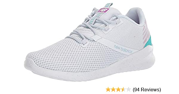 order fast delivery lace up in New Balance Women's District Run V1 CUSH + Sneaker