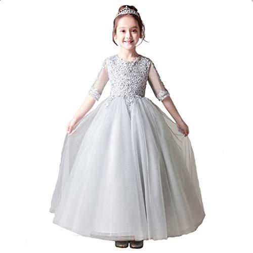 Sera Sposa 003 Puffy Dress E Abito Princess Da colore Pizzo Ailin Piccole Con In 003 Per Flower Home S Girl Dimensioni Bambini Di Ricamato Ricami qWBZzBYw5