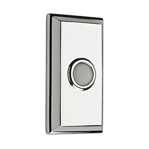 Baldwin 9BR7015-003 Rectangular Bell Button