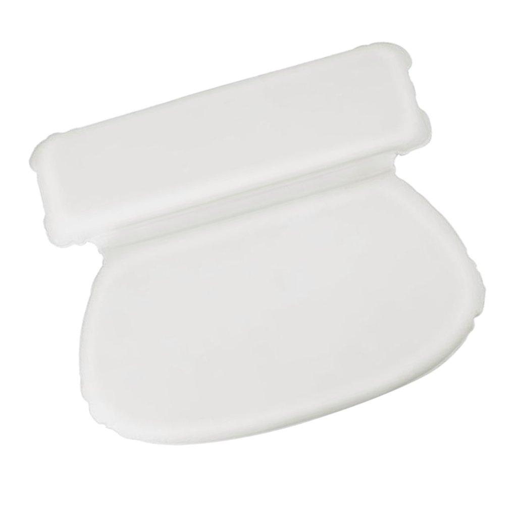 MagiDeal Non-Slip PU Bath Tub Spa Pillow W/Suction Cups Great Relaxing Bathtub