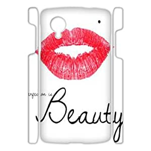 Clzpg 3D New Design Nexus 5 Case - Lipstick DIY 3D plastic case