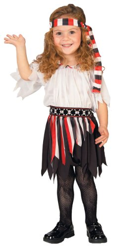 Toddler Pirate Girl Costume (Holloween Pirate Costumes)
