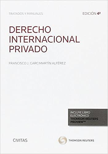 Derecho Internacional Privado por Francisco J. Garcimartín Alférez epub