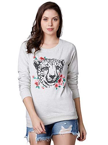 Marca Disati Women Leopard Print Graphic Sweatshirt