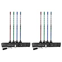 2 x Chauvet DJ Freedom Stick RGB LED Fixture (4-pack) w/Carrying Bag and IRC-6 Remote