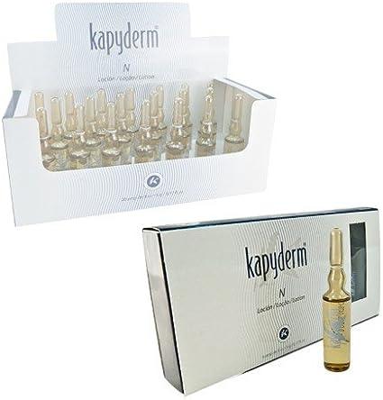 KAPYDERM - Ampollas N Regenerador. Kapyderm . 6 Ampolllas: Amazon ...