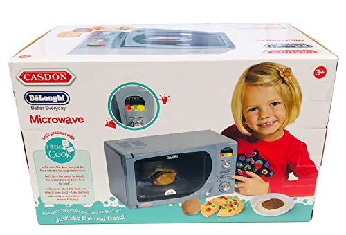 41DlFrHn%2B1L - Casdon Electronic Toy Microwave
