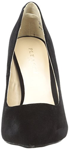 Velvet Pleaser Pump Women's Amu20 Bvel dress Black qwx4vg0Yx