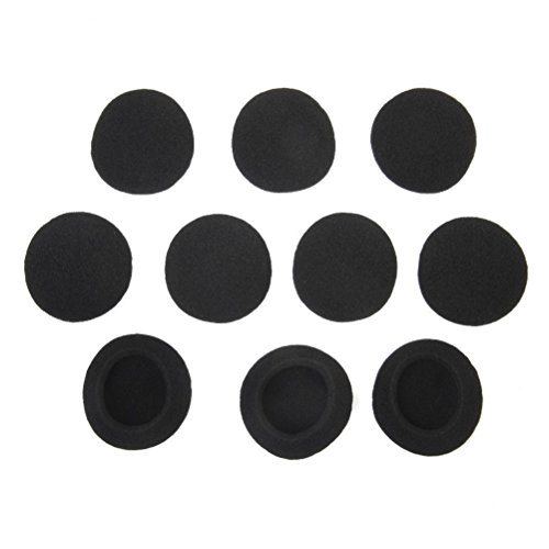 (Tinksky Replacement Foam Ear Cushion Pads for PX100 PX80 PC131 Koss SP Porta Pro Headphones,5 Pairs of Black)