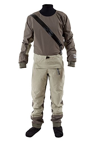 Paddling Suit (Kokatat GORE-TEX Supernova Angler Paddling Suit-Acorn-XL)