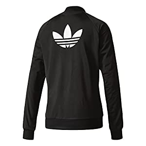 Adidas Women's Superstar Track, Black/White, Small