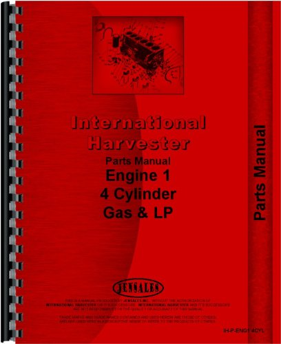 Industrial Engine Parts Manual - 3