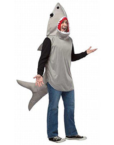 Rasta Imposta Men's Sand Shark Adult, Multi, One (Shark Costumes For Adults)