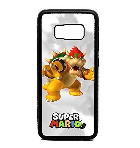 Phone Case Mario Bowser for Galaxy S8 - Mario Galaxy Bowser