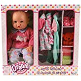 """Mommy and Me 14"""" Soft Body Doll with Wardrobe and Accessories"""