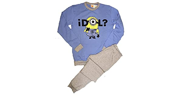 Pijamas hombre Minions de Mi villano favorito movie reversible algodón de *01321-small: Amazon.es: Deportes y aire libre