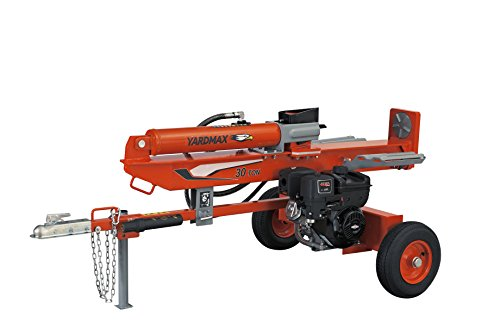 YARDMAX YU3066 30 Ton Full Beam Gas Log Splitter