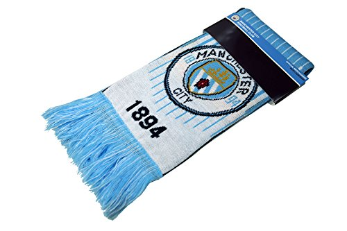 936097e6e2258c Manchester City F.C. Authentic Official Licensed Product Soccer Scarf - 02-2