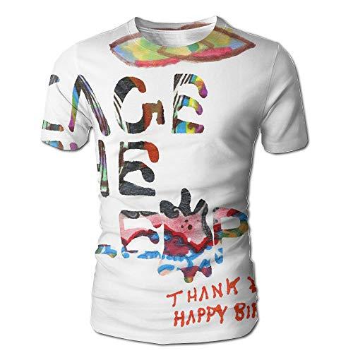Geneva F Cage The Elephant Thank You Happy Birthday Men's Fashion 3D Printed Short Sleeve T-Shirt -