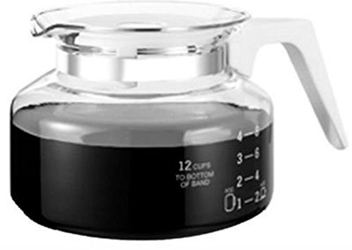 Universal 12 Cup Glass Coffee Replacement Carafe - Medelco 12 Cup Glass