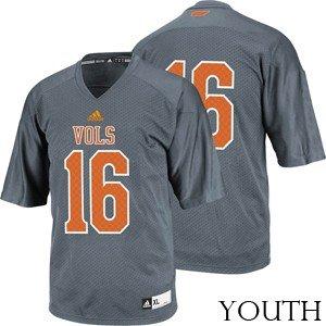 competitive price 2e5ab 21c2c Amazon.com : Youth Tennessee Volunteers Alternate Replica ...