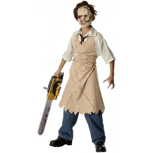 Texas Chainsaw Massacre Child's Leatherface Costume, (Boys Leatherface Costumes)
