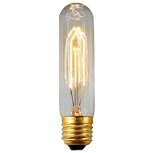 Style Edison Ampoule Antique E27Filament lampe à incandescence Culot à vis ampoules à baïonnette 40W, Verre, E27 40.00 wattsW 220.00 voltsV