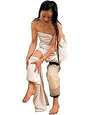 Knee - Funda de ducha de poliuretano termoplástico impermeable para adultos, protección impermeable para la rodilla y la rodilla, para rodillas rotas y quemaduras, 100% reutilizable