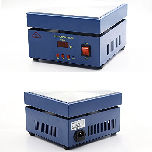 TECHTONGDA Electronic Hot Plate Preheat Preheating Station 110V 800W 20020020mm