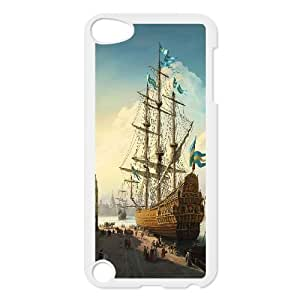 Ipod Touch 5 Cases Port Painting, - [White] Tyquin