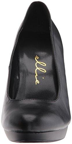 Ellie Shoes Women's 521-Femme-W Dress Pump Black Polyurethane tVNyiGHgXv