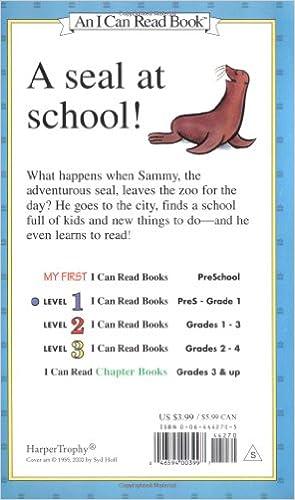 Amazon.com: Sammy the Seal (I Can Read Level 1) (9780064442701 ...