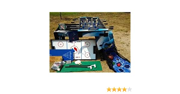 Amazon.com : Sportscraft 16 in 1 Multi Game Table : Rec Room Games And Equipment : Sports & Outdoors