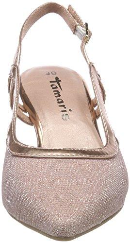 Tamaris Damen 29610 Slingback Sandalen Pink (Rose Glam)