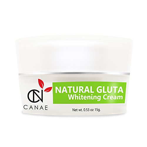 CANAE NATURAL GLUTA Glutathione Skin Whitening & Lightening for Face Suitable for Sensitive Skin, Dark Spot Remover and Moisturizer Facial Cream