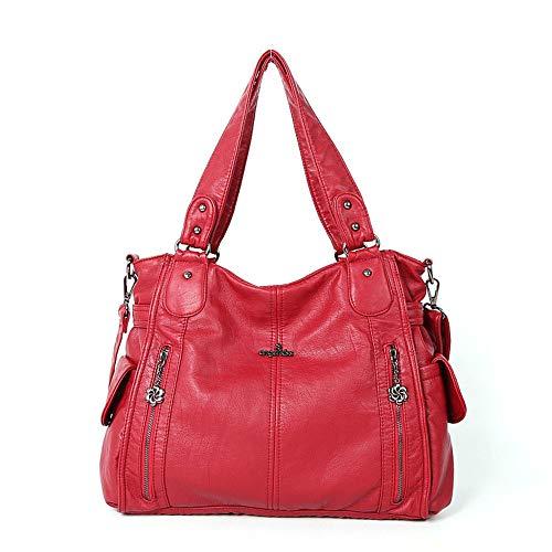 Femme Bleu Red Pour Xuanbao Cabas E6CzxqwT
