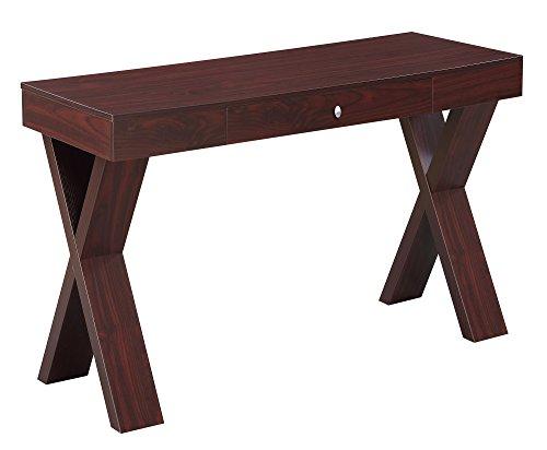 Convenience Concepts 125807MG Newport Wooden Desk, -