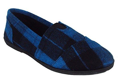 Soda Object Soda Flat Women Shoes Red Linen Canvas Slip on Loafers Comfy Cute OBJECT