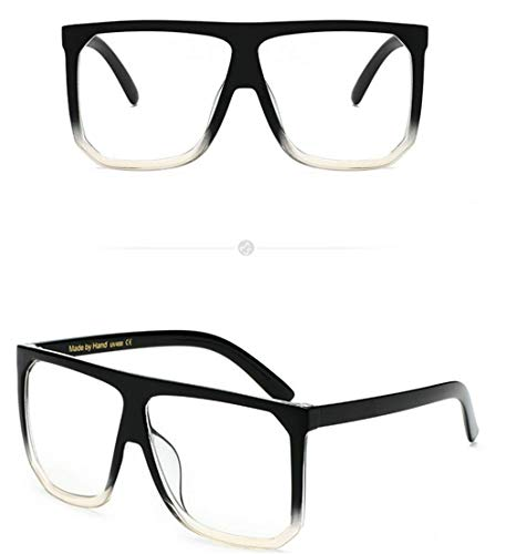 Polarizadas Sol Gafas Cuadrados Ligero Gafas Gafas Sol Espejo Vintage Mujer de Hombre Fliegend Súper C8 UV400 Unisex de Retro Lente IpAYfx