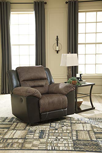 - Signature Design by Ashley 2910125 Earhart Rocker Recliner, Chestnut