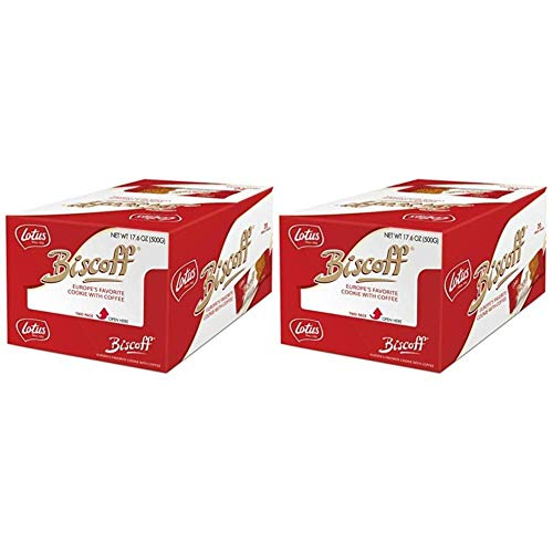 - Biscoff Cookies Extra Large Caddy Twin Pack (Pack of 2) (80 Cookies / 35.2 oz Total)