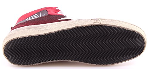 Stella Netta Bianca 2 Italia Scarpe Da Bordeaux 12 Golden Goose Donna Sneakers Alte awzfwxBPq